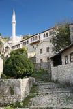 mostar κοντινό pocitelj χωριό της Βοσνί&alpha Στοκ Εικόνα