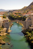 Mostar. View of Mostar, Bosnia and Herzegovina Stock Images