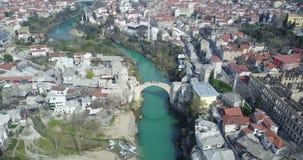 Mostar-alte Brücke Lizenzfreies Stockfoto