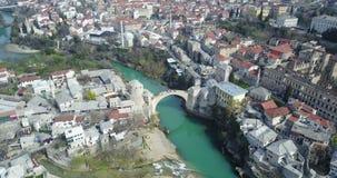 Mostar-alte Brücke Stockfotografie