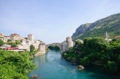 Mostar, Bósnia e Herzegovina Fotos de Stock