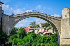 Mostar - Bósnia e Herzegovina Imagens de Stock