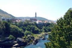 Mostar, Bósnia e Herzegovina Foto de Stock Royalty Free