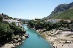 Mostar, Bośnia Obrazy Royalty Free