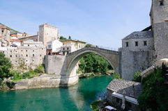 Mostar, Bosnië-Herzegovina Stock Foto's