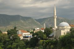 Mostar in Bosnia Stock Images