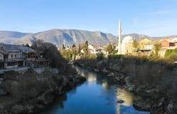 Mostar, Bosnia-Erzegovina Fotografia Stock Libera da Diritti