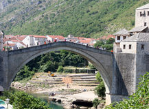 Mostar Bosnia Royalty Free Stock Photography