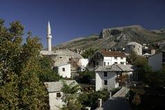 Mostar in Bosnia Hercegovina stock afbeelding