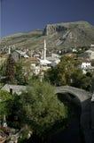 Mostar in Bosnia Hercegovina stock foto's