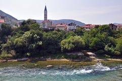Mostar, Bosnia and Herzegovina. Mostar city, Bosnia and Herzegovina Stock Photography