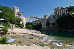 Mostar, Bosnia Herzegovina. The old bridge Royalty Free Stock Images