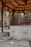 Mostar, Bosnia Herzegovina. Old mosque architecture detail Royalty Free Stock Photography