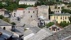 Mostar, Bosnia Herzegovina. The old town Stock Image