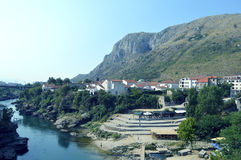 Mostar,Bosnia and Herzegovina. Travel to Europe under summer,Mostar in the Bosnia and Herzegovina Stock Photo