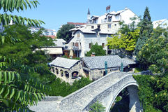 Mostar,Bosnia and Herzegovina. Travel to Europe under summer,Mostar in the Bosnia and Herzegovina stock images