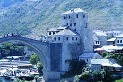 Mostar,Bosnia and Herzegovina. Travel to Europe under summer,Mostar in the Bosnia and Herzegovina Stock Photography