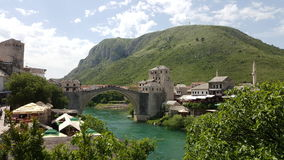 Mostar, Bosnia&Herzegowina Immagini Stock Libere da Diritti