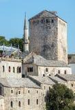 Mostar in Bosnia Stock Photos