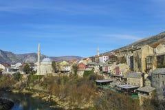 Mostar, Bosnia y Hercegovina imágenes de archivo libres de regalías