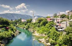 Mostar, Bosnie-et-Herzégovine Photographie stock libre de droits