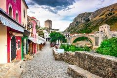 Mostar, Bosnie-et-Herzégovine Photo libre de droits