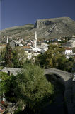 Mostar in Bosnien Hercegovina Stockfotos