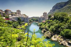 Mostar, Bosnien-Herzegowina Lizenzfreies Stockfoto