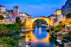 Mostar, Bosnien-Herzegowina Lizenzfreie Stockfotos