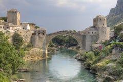 Mostar-Brücke Lizenzfreie Stockfotografie