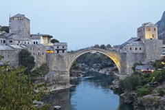 Mostar Brdige Royalty Free Stock Photography