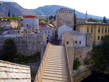 Mostar bridge Royalty Free Stock Images
