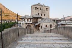 Mostar bridge. The Old bridge over the Neretva River in Mostar, Bosnia and Herzegovina Stock Photography