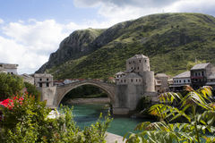 Mostar bridge, Bosnia and Hercegovina Royalty Free Stock Photos