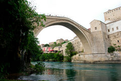 Mostar Bridge - Bosnia Herzegovina Royalty Free Stock Image