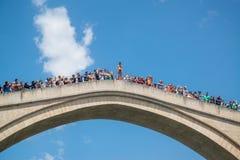 Mostar bridge, Bosnia and Herzegovina Stock Images