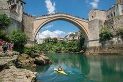 Mostar bridge, Bosnia and Herzegovina Royalty Free Stock Photo