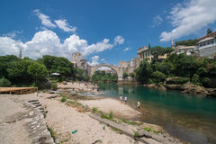Mostar bridge, Bosnia and Herzegovina Stock Photo