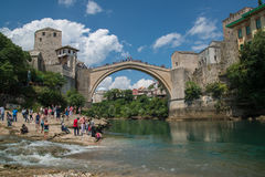 Mostar bridge, Bosnia and Herzegovina Stock Image