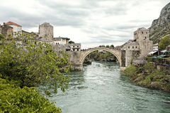 Mostar Bridge Stock Image