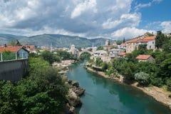 Mostar bridge, Bosnia and Herzegovina Royalty Free Stock Photos
