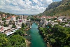 Mostar bridge, Bosnia and Herzegovina Stock Photos