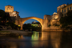 The Mostar bridge Stock Image