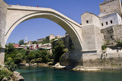 Mostar city Stock Photos