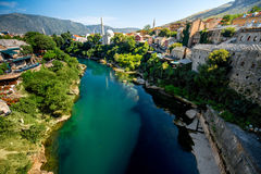 Mostar city Royalty Free Stock Image