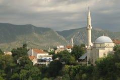 Mostar en Bosnia Imagenes de archivo