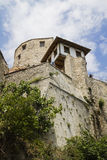 Mostar gammal town Arkivfoto