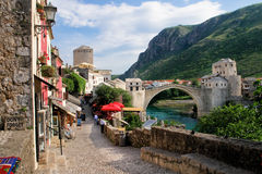 Mostar - la Bosnie-et-Herzégovine Photo libre de droits