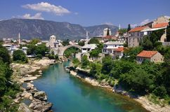 Mostar - la Bosnie-et-Herzégovine Image libre de droits