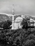 Mostar moské arkivfoton